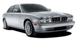 Chauffeur driven cars in Wirral area, including the long wheel based version of the new Jaguar XJ